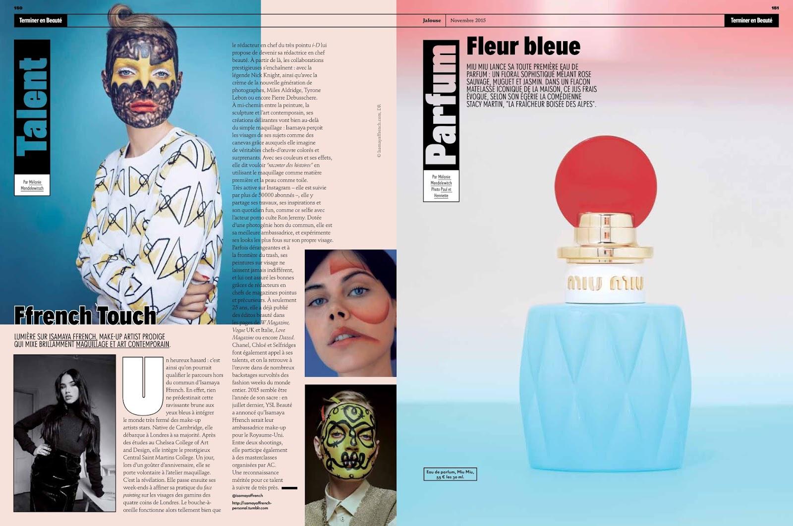 Jalouse Magazine Melanie Mendelewitsch